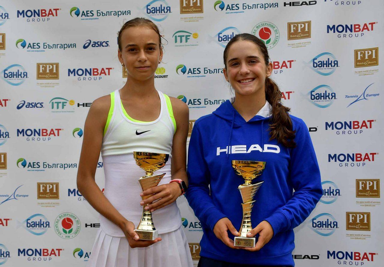 Държавно първенство тенис до 14 год. ТК 15-40 финал двойки (58)