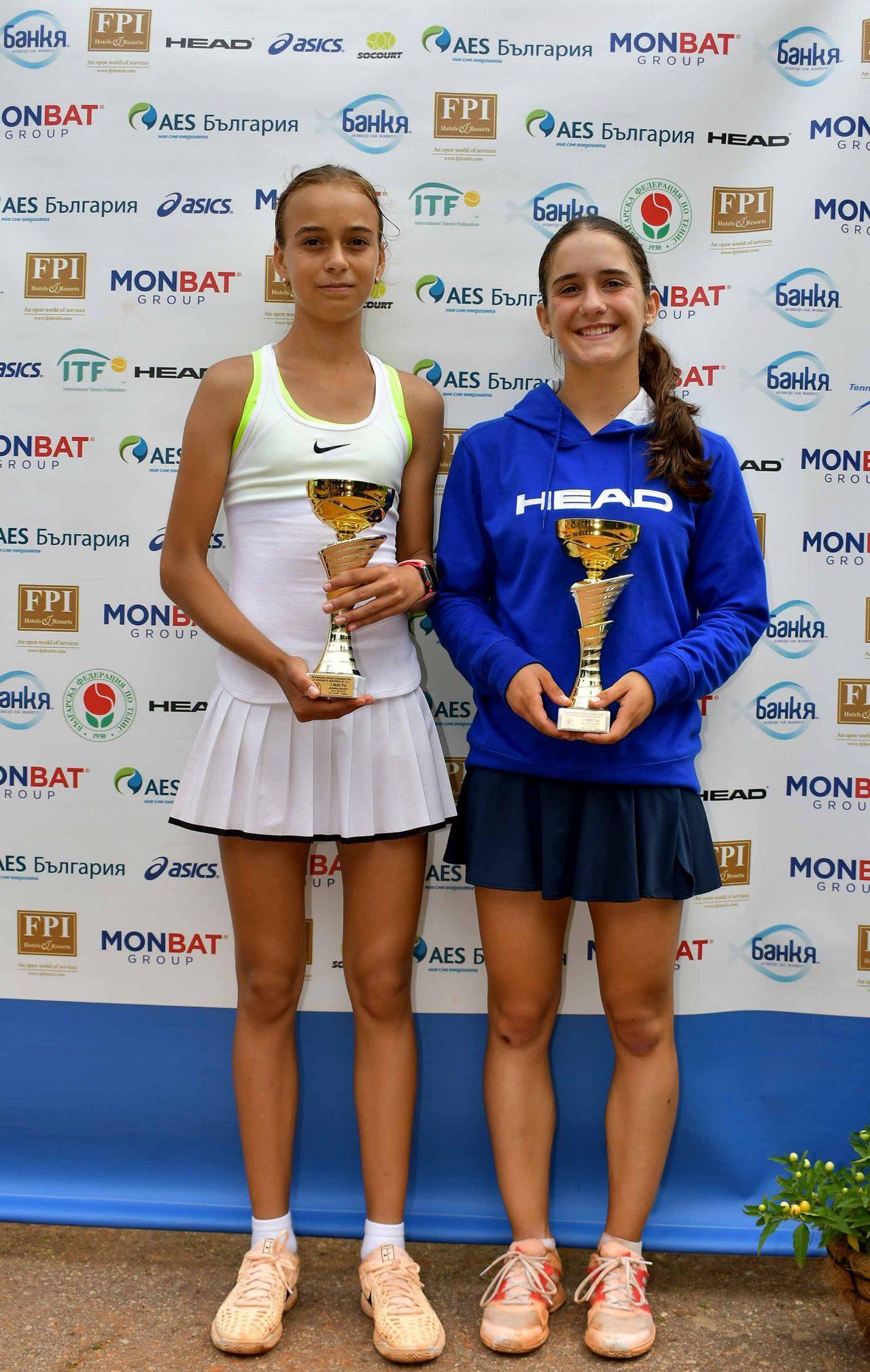 Държавно първенство тенис до 14 год. ТК 15-40 финал двойки (59)