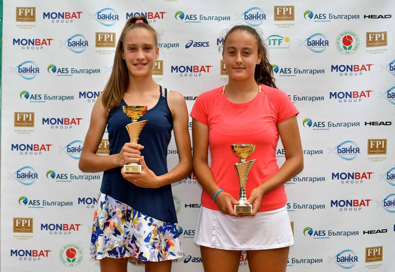 Държавно първенство тенис до 14 год. ТК 15-40 финал двойки (60)
