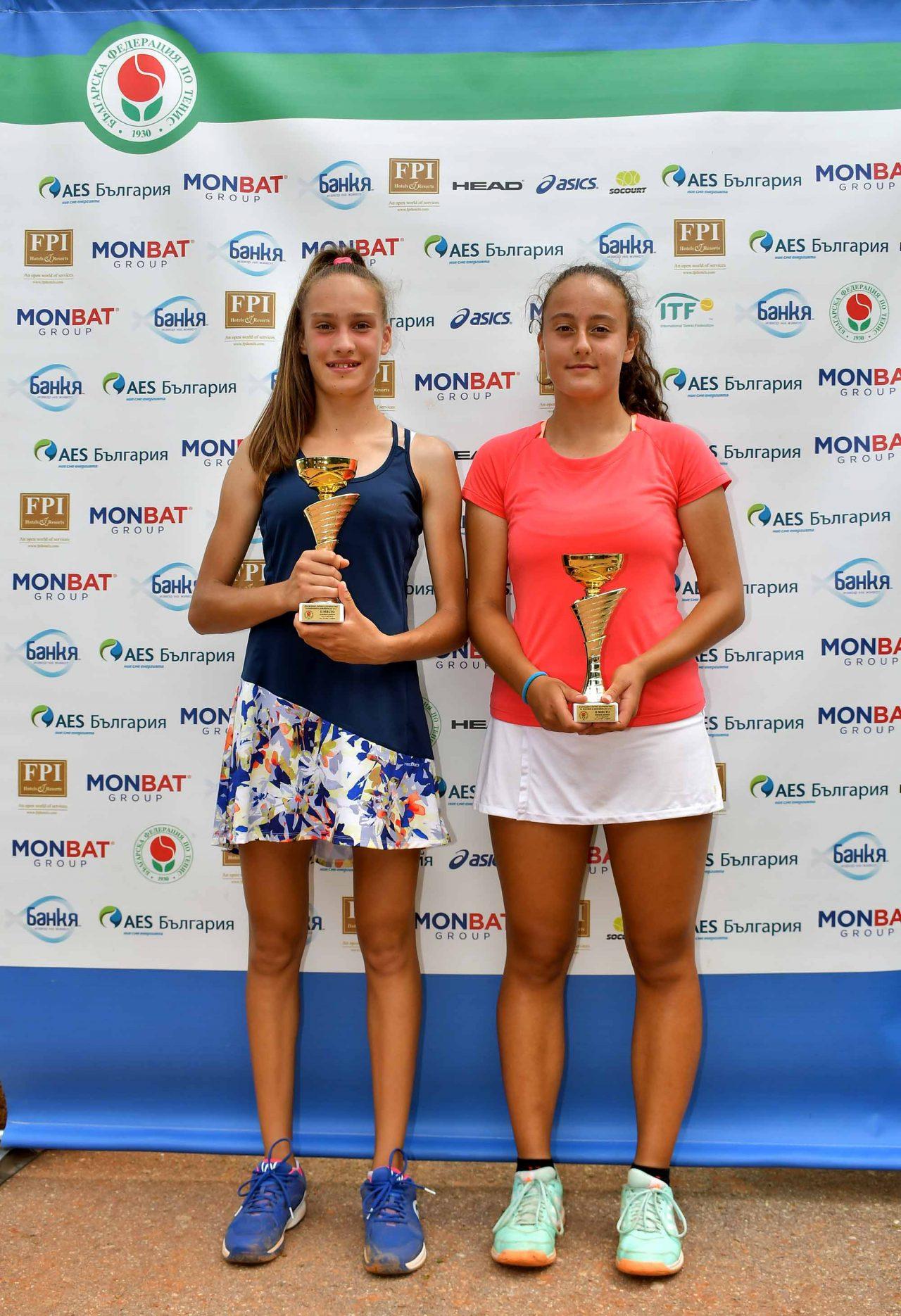 Държавно първенство тенис до 14 год. ТК 15-40 финал двойки (61)