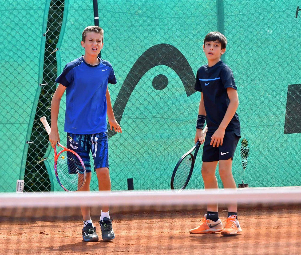 Държавно първенство тенис до 14 год. ТК 15-40 финал двойки (8)