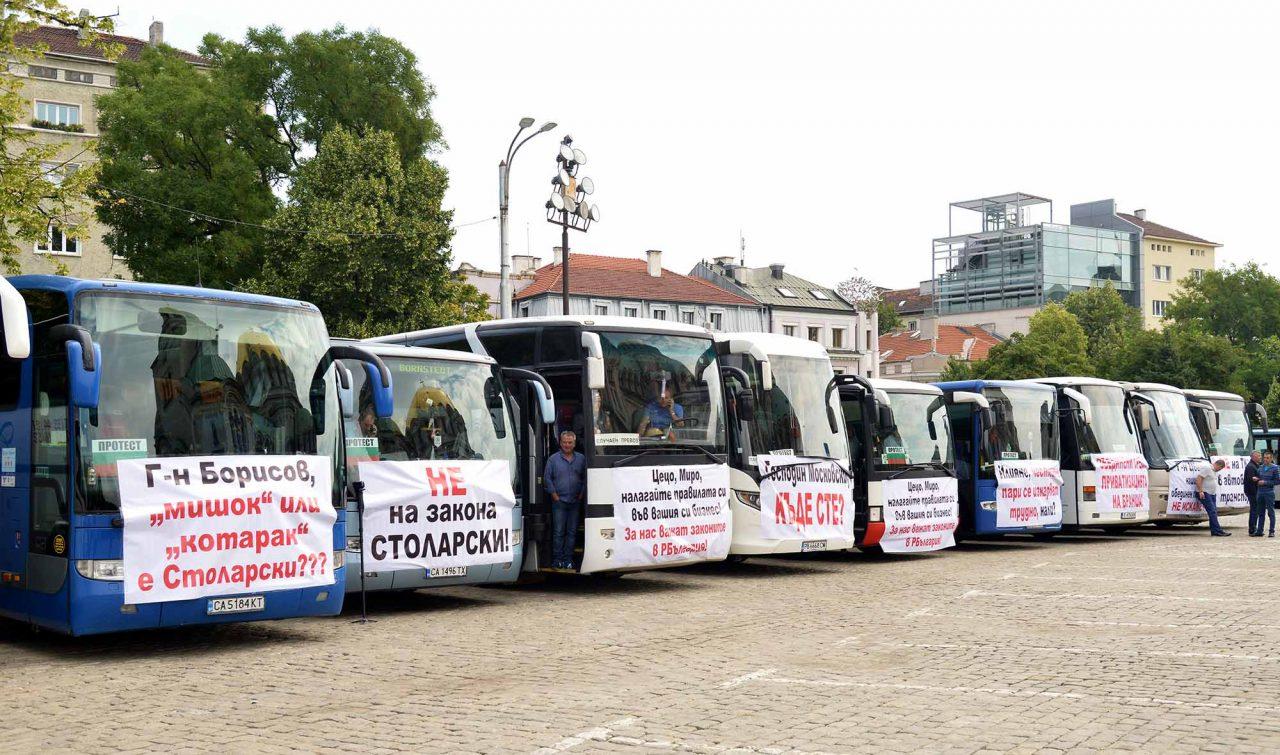 Протест на превозвачите (3)