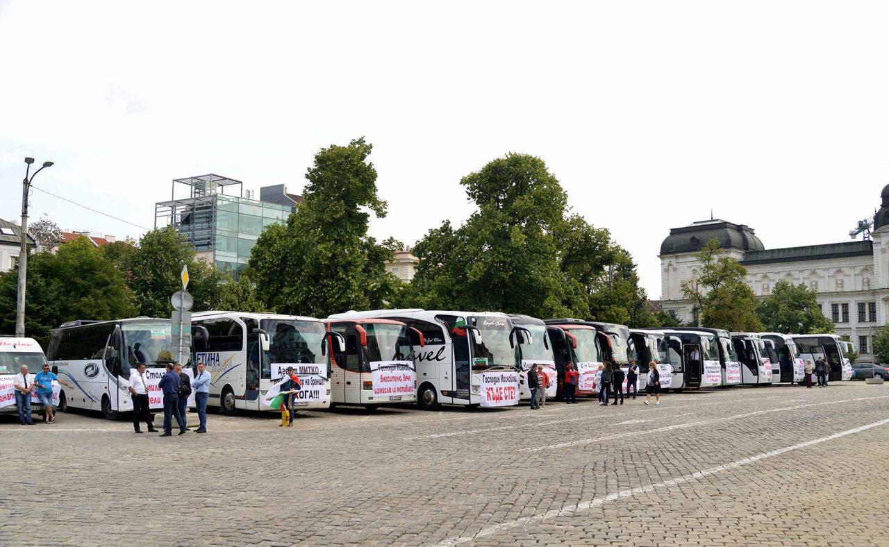 Протест на превозвачите (7)