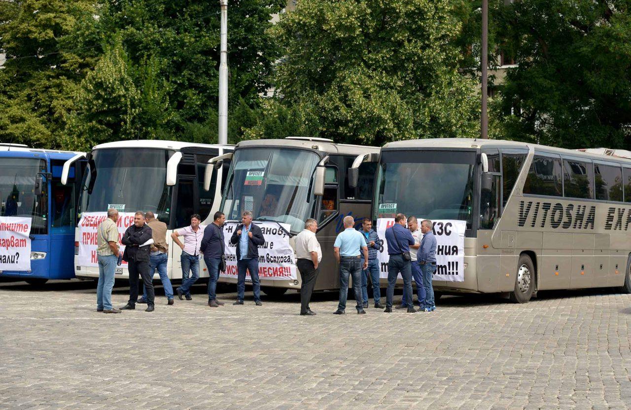 Протест на превозвачите (8)