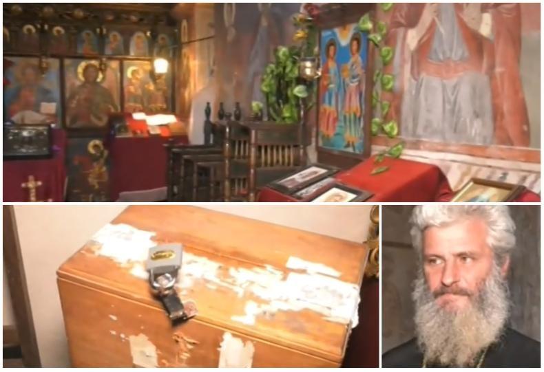 Снимка: Първи подробности за наглия обир в Черпишкия манастир! Ето как са действали крадците: Първо са разбили вратите, а след това…
