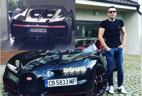 """Снимка: Четирима въоръжени вардят """"Бугатито"""" за 5 милиона на Ваньо Алексиев! Цената на каското е шокираща!"""